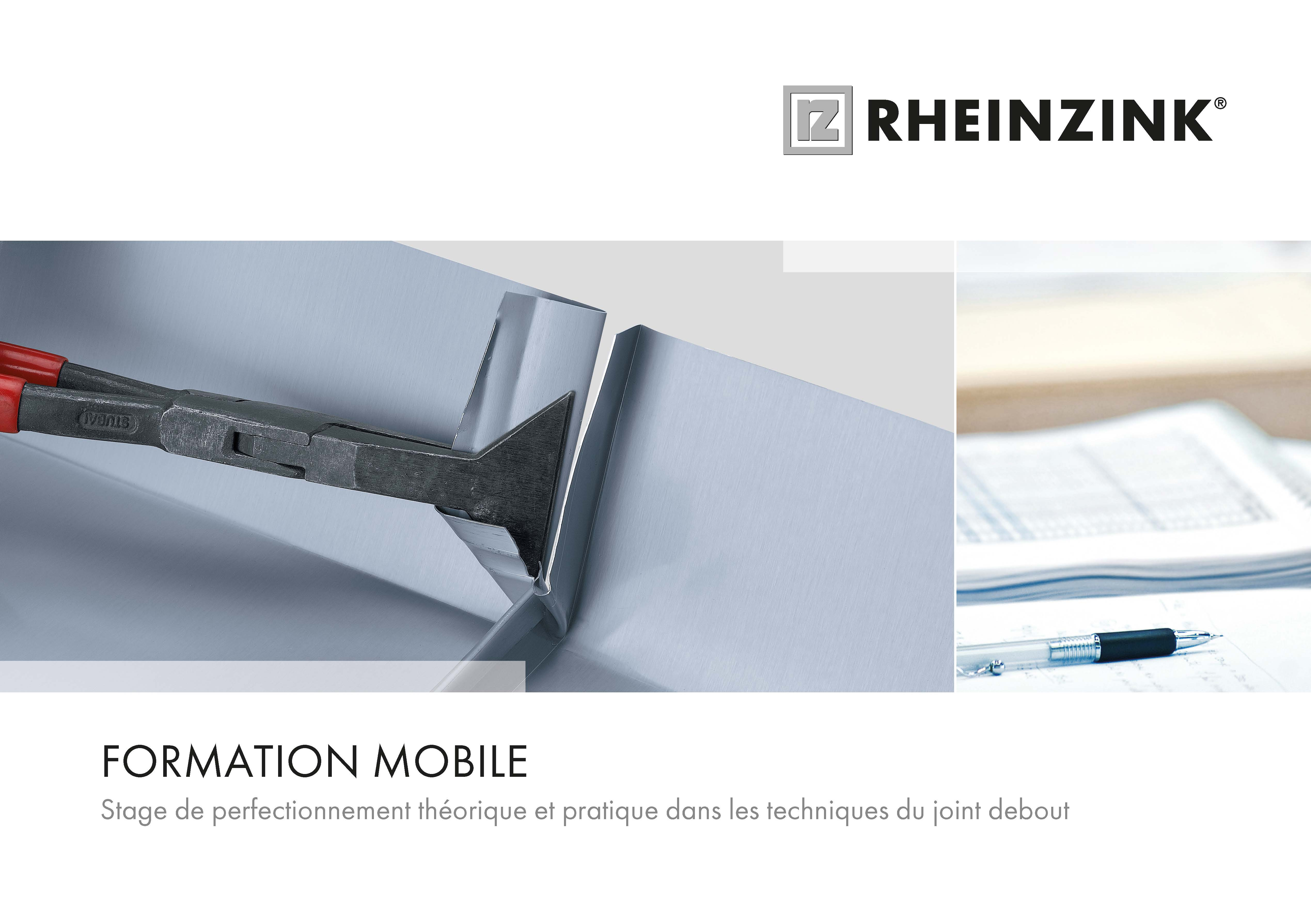 Brochure Formation Mobile RHEINZINK